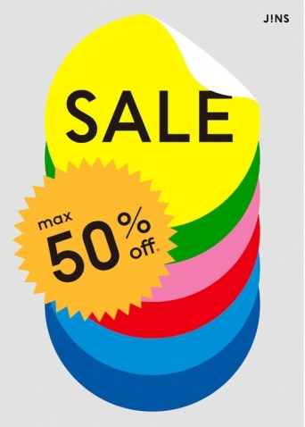 MAX50%OFF! JINSのFINAL SALE実施中!